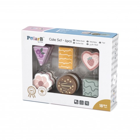 PolarB Modern Mini Cake Set (6pcs)