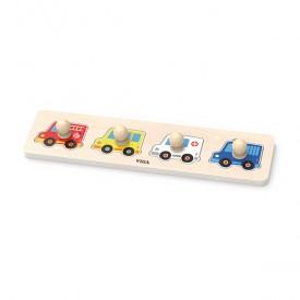 Flat Puzzle - Vehicles