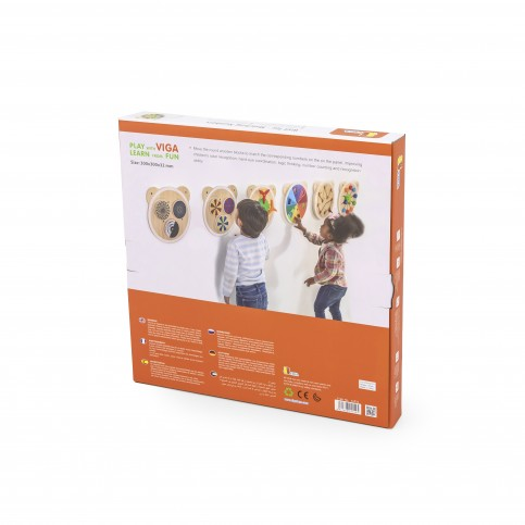 Matching Numbers - Wall Toy