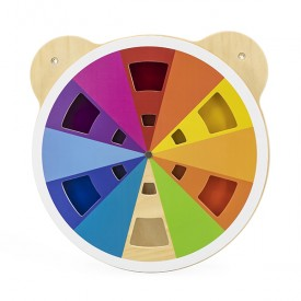 Ocerlaying Colours - Wall Toy