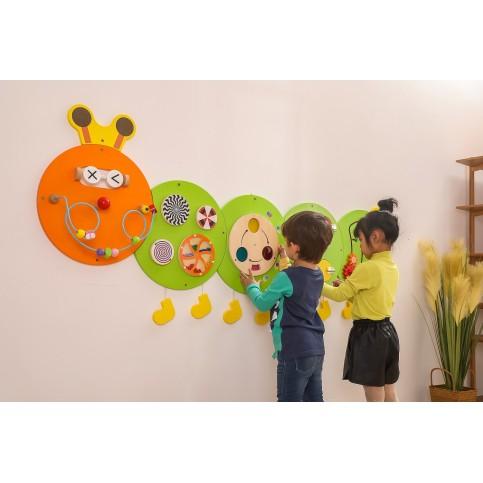 Large Caterpillar Wall Toy