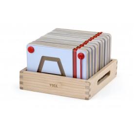 Magnetic Writing Board Geometric Shapes