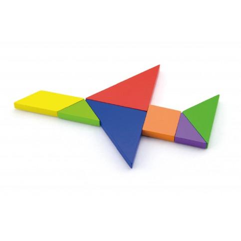 Magnetic Tangram Blocks - 36pc Set