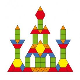 Magnetic Geometric Blocks - 102pc