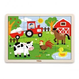 16 Piece Puzzle - Farm