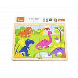 16pcs Puzzle - Dinosaur