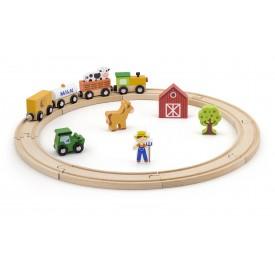 19 Piece Train Set