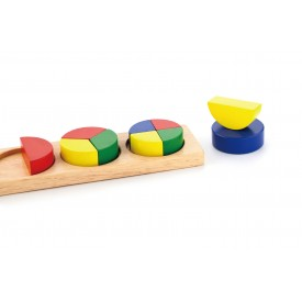 Fractions Math Block