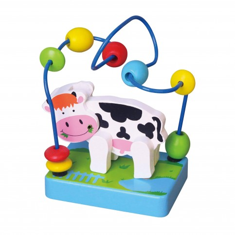 Wire Beads - Cow