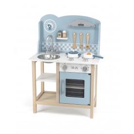 Blue Kitchen w/ Accessories