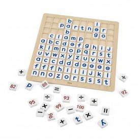 Learning Alphabet & Maths