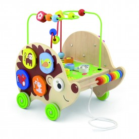 4 in 1 Pull Along Activity Hedgehog