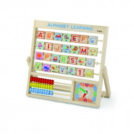 Learning Alphabet & Clock