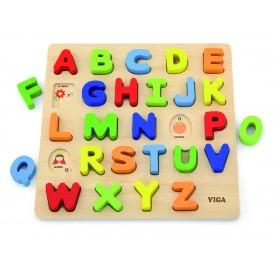 Block Puzzle - Alphabet Uppercase