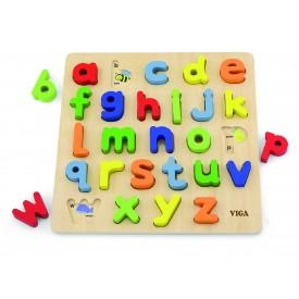 Block Puzzle - Alphabet Lowercase
