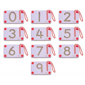 Magnetic Writing Board Number