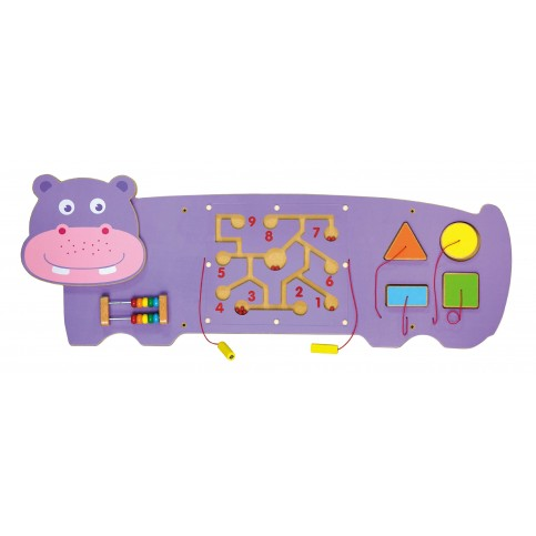 Wall Toy - Hippopotamus