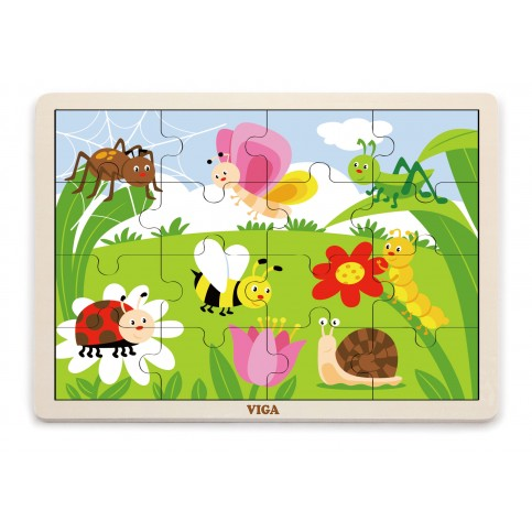 16pcs Puzzle - Insects