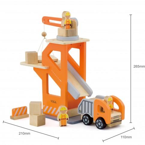 Crane Lift w/ Dumper