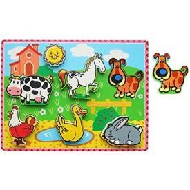 Chunky Puzzle - Farm Animals