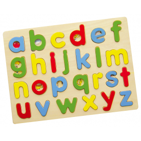 Lowercase abc Letter Tray Puzzle
