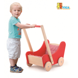 Doll's Buggy - Red