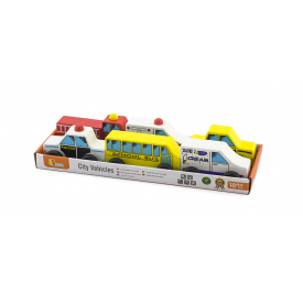 City Vehicles 6 Piece Set