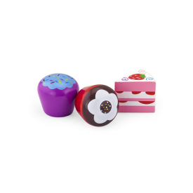 6 Piece Colourful Cake Set