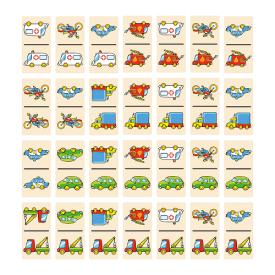 Dominoes - Vehicles