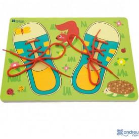 Lacing Shoes Puzzle