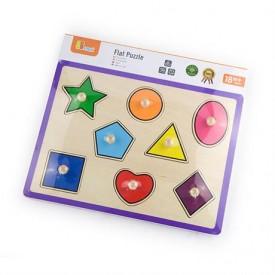 Flat Puzzle - Shapes