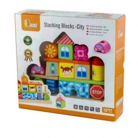 Stacking Blocks - City