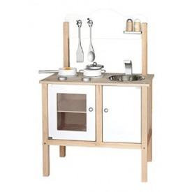 White Noble Kitchen w/ Accessories