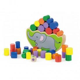 Elephant Stacking and Balancing Game