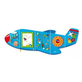 Large Aeroplane Wall Toy