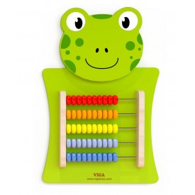 Wall Toy Frog - Abacus