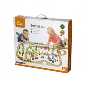 90 Piece Train Set