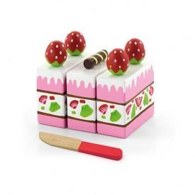 Playing Food - Strawberry Cake