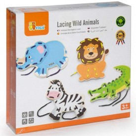 Lacing Wild Animals