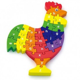 3D Rooster Puzzle