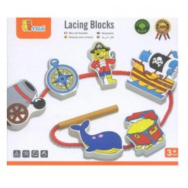 Lacing Blocks - Pirate