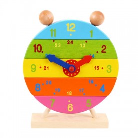 Colourful Stacking Clock