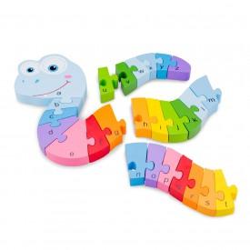 Alphabet Snake Puzzle