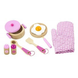 Cooking Utensil Set - Pink