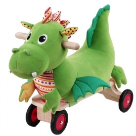 Puffy The Ride-on Dragon