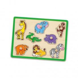 Flat Puzzle - Wild Animals