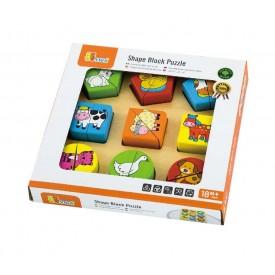 Shape Block Puzzle - Animals