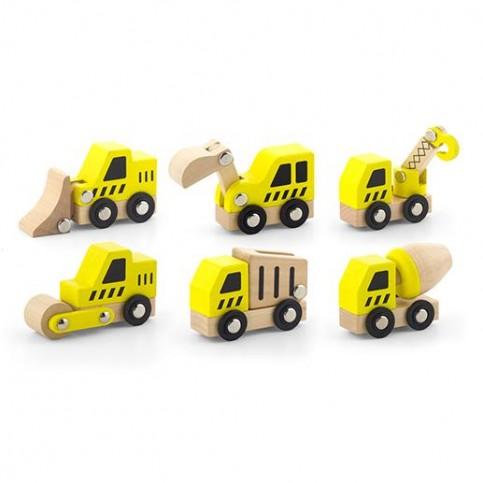 6 Piece Construction Vehicles