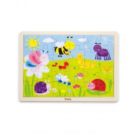 24 Piece Insect Puzzle