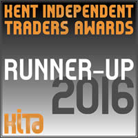Kent Independent Traders Awards 2016 Runner Up